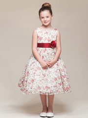 Floral Organza Easter Dress