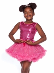 Fuchsia Beaded Tutu