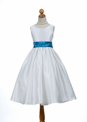 Gorgeous Satin Flowergirl Dress