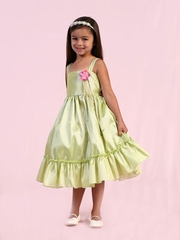Green/ Mint Flower Girl Dresses