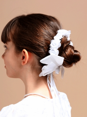 Hair Bun Wrap for Communion