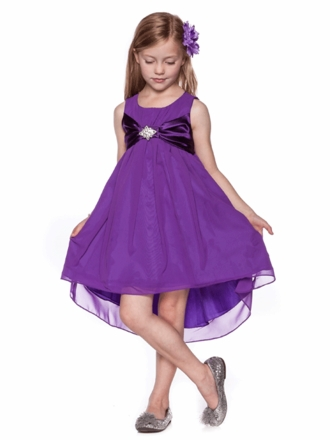 Pretty Dresses For Graduation For Kids Hi-low-soft-sheer-graduation ...