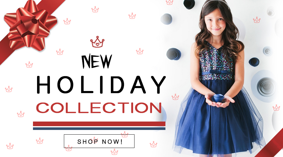 Holiday girl dresses from MyGrlDress.com