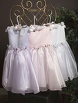 Infant Organza Flower Girl Dress