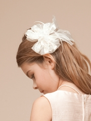 Ivory Hairpin for Flower Girl