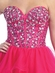 Jewel Accented Bodice & Layers Tulle Skirt  Prom Dress