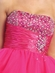 Jewel Accented Bodice w/Tulle Skirt Dress