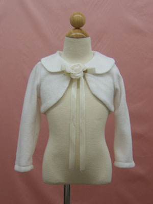 Long Sleeves Bolero Jacket for flower girl