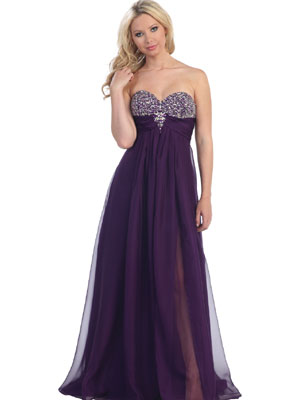 Luxury Jewel Bodice Long Prom Dress