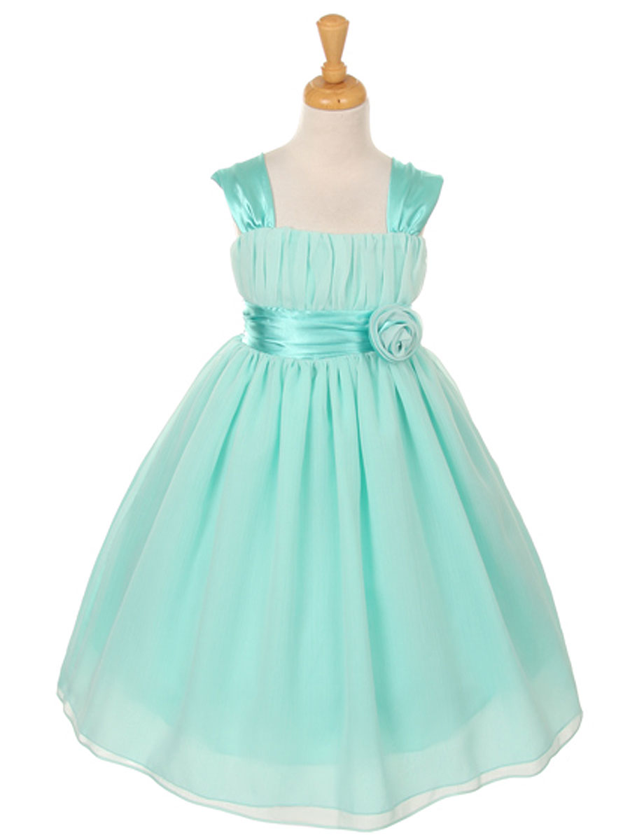 Wedding Mint Flower Girl Dresses green sage flower girl dresses shop by color mint chiffon dress with gathered top