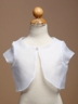Pearl Organza Bolero Jacket for Girl