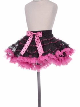 Polka-Dot Inspired Hot Pink Tutu