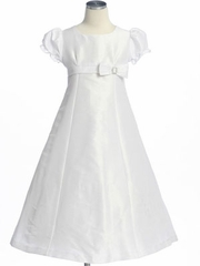 Poly Dupioni Flower Girl Dresses