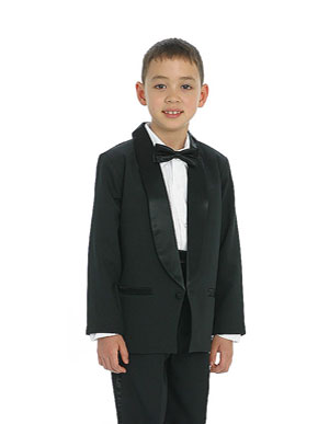 Ring Bear Tuxedo without Tail