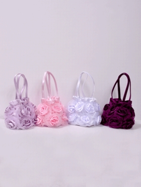 Rose Purse for Flower Girl