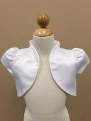 Satin bolero Jacket for communion dress