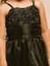 Sequins Embroidred Mesh Top w/Pleated Organza Waistband Flower Girl Dress