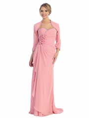 Sparkling Chiffon Long Party Dress