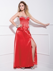 Sweet Empire Long Party Dress