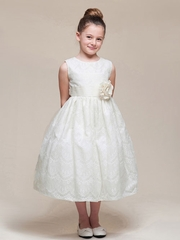 Sweet Lace Flower Girl Dress