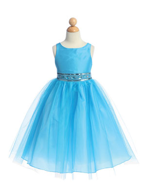Taffeta and Tulle Easter Girl Dress