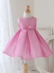 Tinkerbell Pink Two Tone Shantung Dress