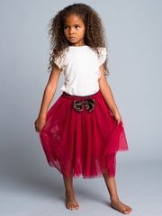 Trendy Soft Mesh Tutu Skirt