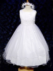 Tulle & Organza Flower Girl Dresses
