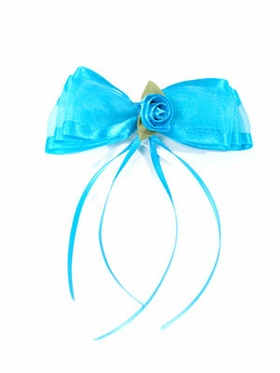 Turquoise Hairpin for Flower Girl