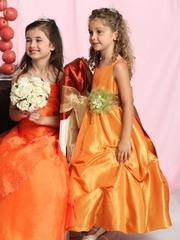 Yellow/ Orange Flower Girl Dresses