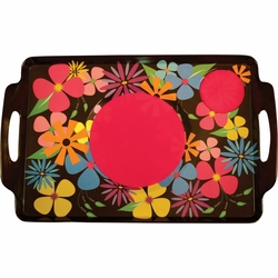 Floral Lapper Tray