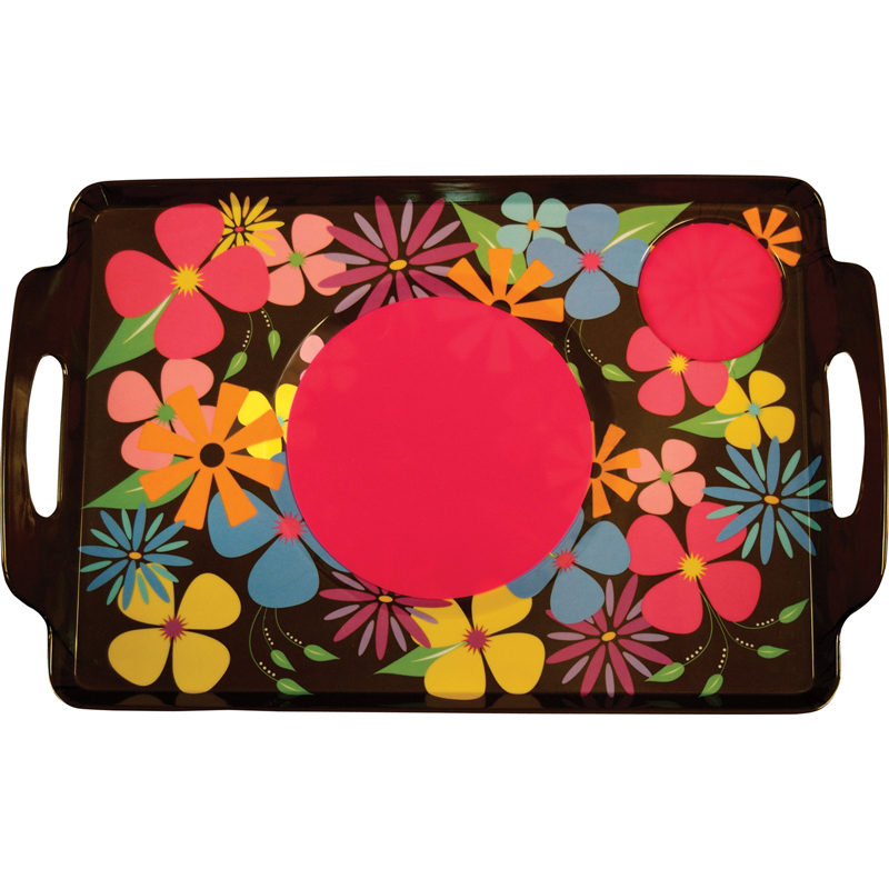 Floral Lapper Trays A Non Slip Lap Tray Lapper Trays