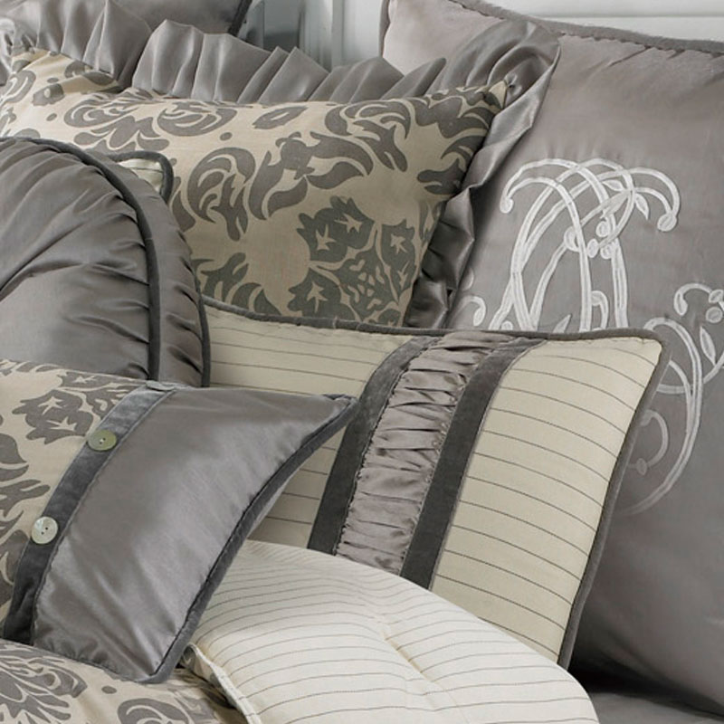 Kerrington 4 Piece Luxury Comforter Set  Luxury Bedding by HiEnd Accents. Kerrington 4 Piece Comforter Set  HiEnd Accents  Luxury Bedding