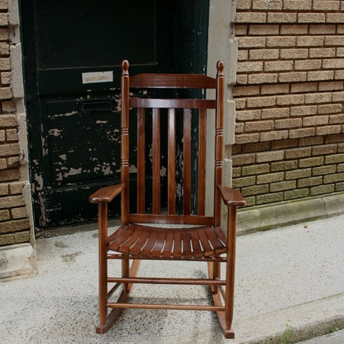 Outdoor Rocking Chairs Wooden Rocking Chair Made