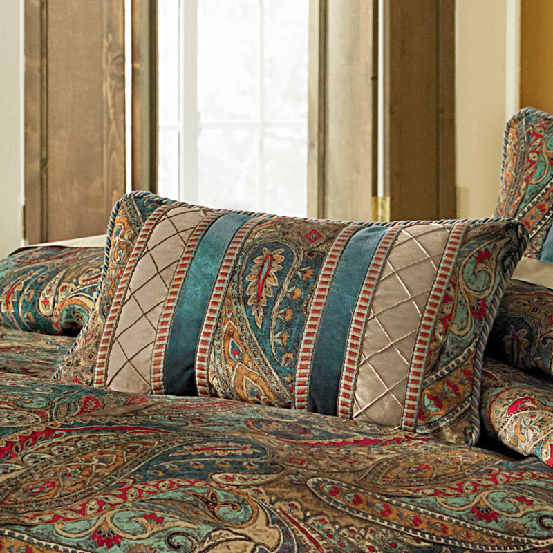 Seville Luxury Bedding Set  A Michael Amini Bedding Collection. Michael Amini Seville Luxury Comforter Set  King and Queen size