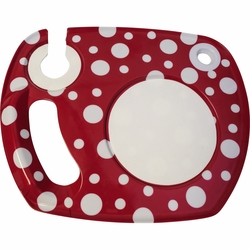 Red and White Dots Lappertizer
