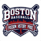 Baseball Passion History Pride Sticker