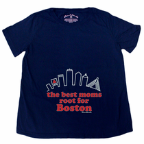 Best Moms Root For Boston Maternity T-Shirt