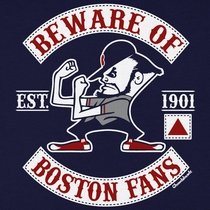 Beware Of Boston Baseball T-Shirt