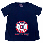Born Into It Baseball Maternity T-Shirt - Navy