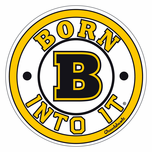 Born Into It, Black & Gold Sticker