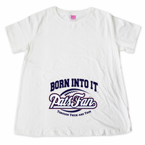 Born Into It Pat's Fan Maternity T-Shirt
