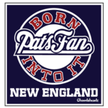 Born Into It Pats Fan Sticker
