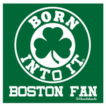 Born Into It, Shamrock Sticker