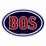 BOS ''Tuscan'' Oval Sticker