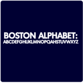 Boston Alphabet T-Shirt