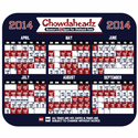 Boston Baseball 2014 Team Schedule Mousepad