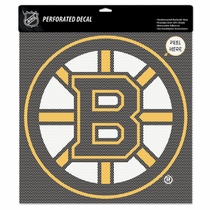 Boston Bruins 17x17 Window Sticker