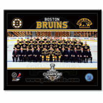 Boston Bruins 2011 Stanley Cup Champtions Team 8X10 Framed Photo