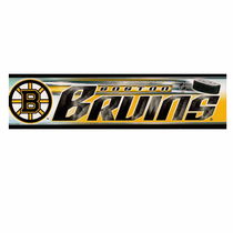 Boston Bruins 3x12 Bumper Sticker